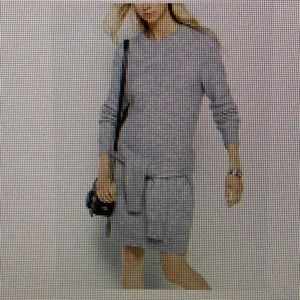 Michael Kors Mohair Ribbed sweater dress
